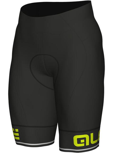 Alé Cycling Corsa Shorts Men black-fluo yellow